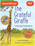 Sample pages or images for the grateful giraffe