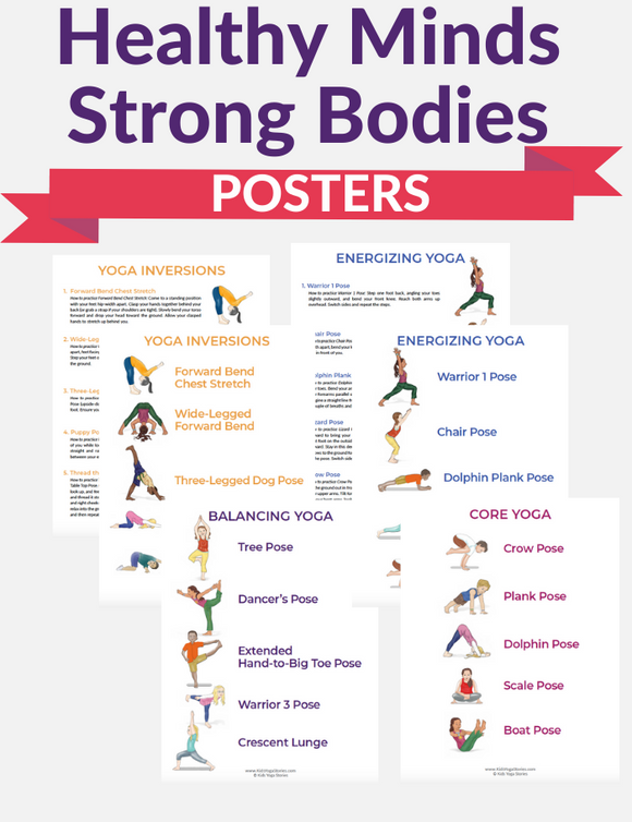 Healthy Minds Strong Bodies Posters