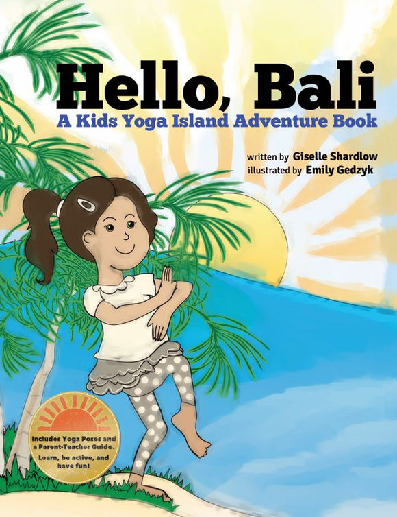 Front cover page or cover image for hello bali Book
