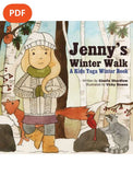 Sample pages or images for jennys winter walk