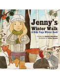 Front cover page or cover image for jennys winter walk Book