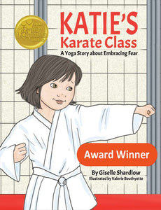 Front cover page or cover image for katies karate class Book