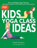 Front cover page or cover image for kids yoga class ideas Teaching Resource
