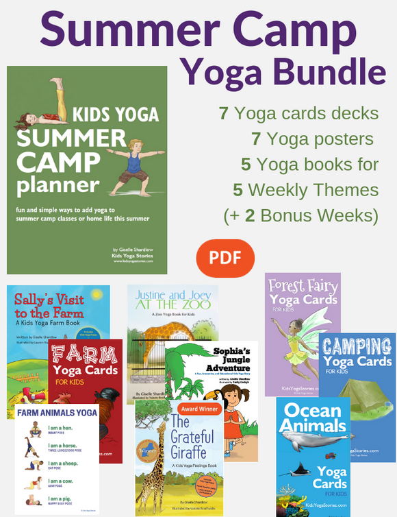Kids Yoga Summer Camp Bundle