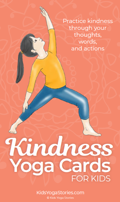 Kindness Yoga Cards for Kids