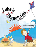 Front cover page or cover image for lukes beach day Book