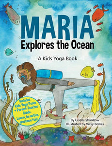 Front cover page or cover image for maria explores the ocean Book