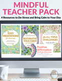 Mindful Teacher Pack