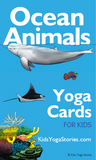 Ocean Animals Yoga Cards for Kids