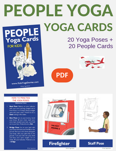 People Yoga Cards for Kids