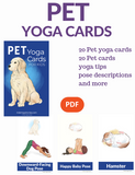 Pet Yoga Cards for Kids