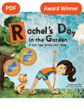 Sample pages or images for rachels day in the garden