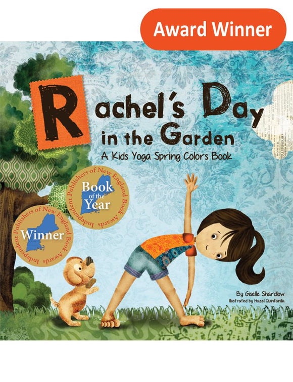 Front cover page or cover image for rachels day in the garden book