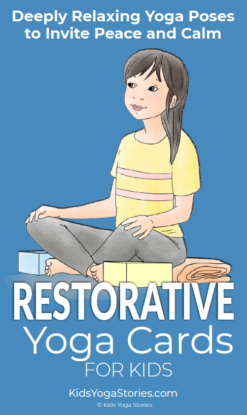 Restorative Yoga Cards for Kids
