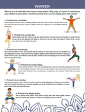 Seasons Yoga Ideas for Kids