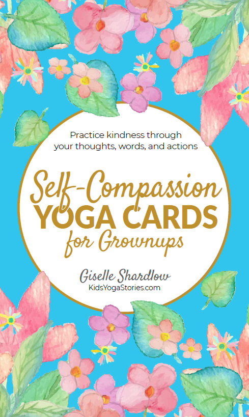 Self-Compassion Yoga Cards for Grownups