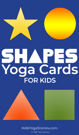 Shapes Yoga Cards for Kids