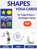 Shapes Yoga Poses for Kids