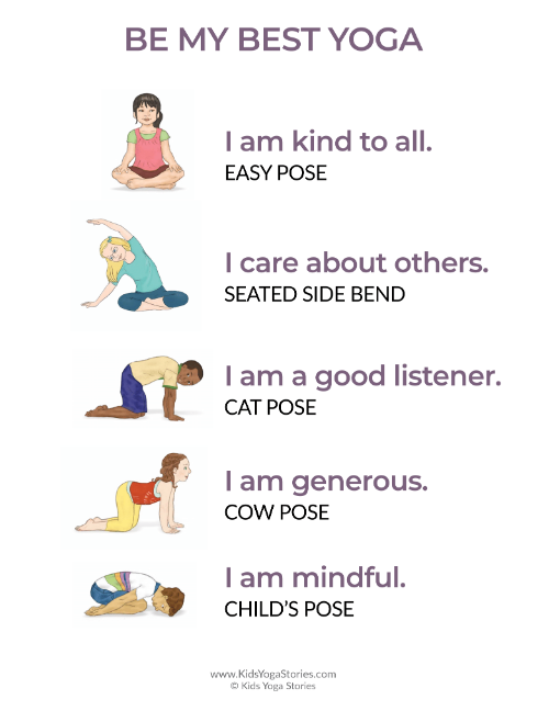 Simple Yoga Sequences For Kids Book 3 Kids Yoga Stories