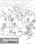 Sample pages or images for sophias jungle adventure coloring book
