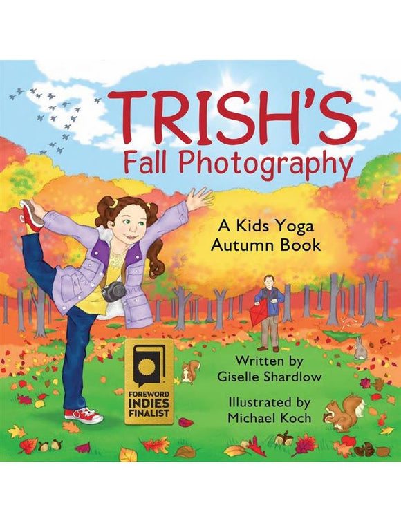 Front cover page or cover image for trishs fall photography Book