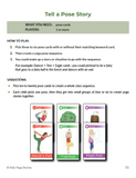 Yoga Card Games for Kids