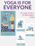 Yoga is for Everyone Cards for Kids