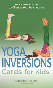 Yoga Inversions Cards for Kids