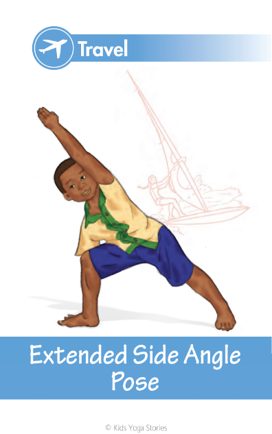 Yoga Poses For Kids Cards Deck Two Kids Yoga Stories