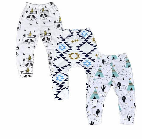 3 Pairs of Baby / Child Leggings www.bluebelleloves.com