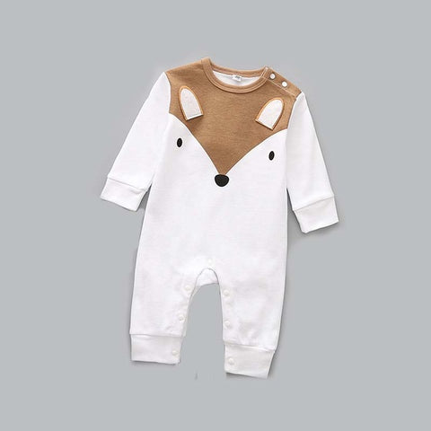 Fox Long Sleeve Sleepsuit / Romper Baby Boy (0 - 12 months)