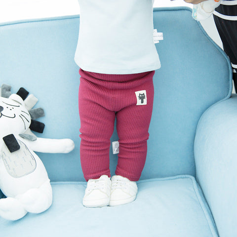 Ribbed Unisex Baby Leggings/Trousers 3 - 18 months (more colours)