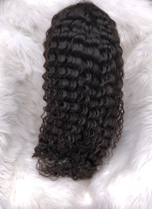 Natural full lace wigs