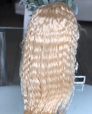 Spanish wave full lace wig (plain colored)