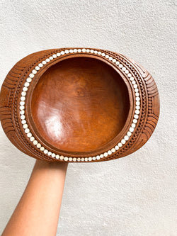 Small Bowl with Shell Inlay