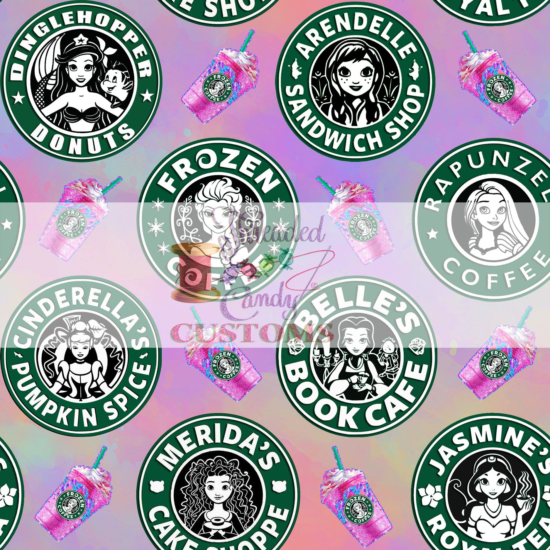 *PREORDER* Caffeinated Princesses