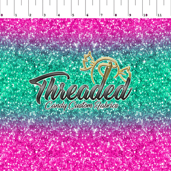 PREORDER Tropical Ombre Faux Glitter
