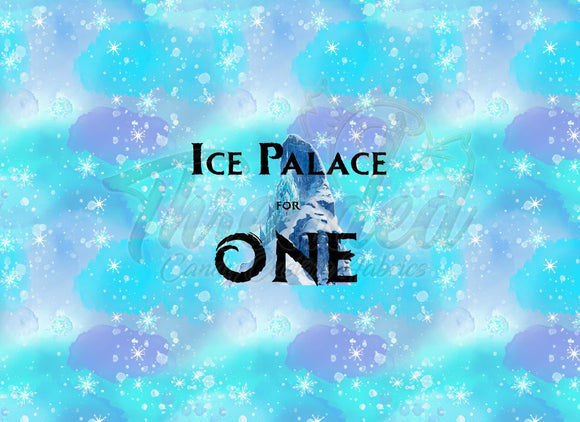 RETAIL Ice Palace for One Adult Panel