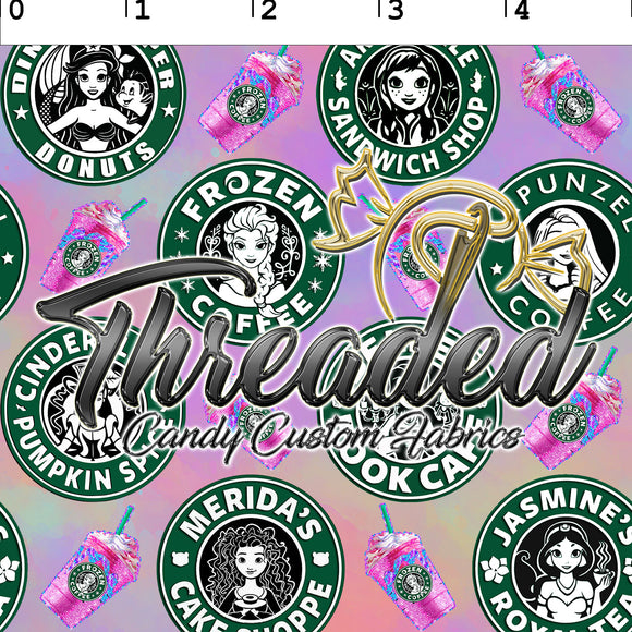 PERPETUAL PREORDER™ 792 Caffeinated Princesses, (Small Scale)