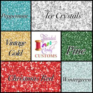 PREORDER Holiday Faux Glitters