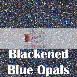 PERPETUAL PREORDER Blackened Blue Opal Pearlescent Glitter