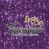 PREORDER 576 Purple Disco Sequins