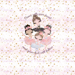 *PERPETUAL PREORDER* Brunettes Tiny Dancers Blanket Topper