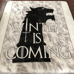 *PERPETUAL PREORDER* Winter is Coming Blanket Topper