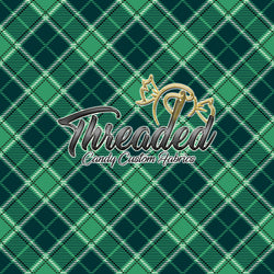 PREORDER 716 Green8 Tartan Plaid