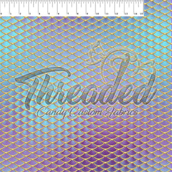 PREORDER 181 Violet Aquamarine Mermaid Scales
