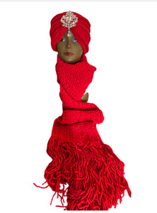 Turban & scarf set