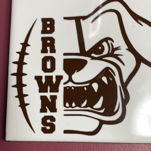 Browns mug & coaster set
