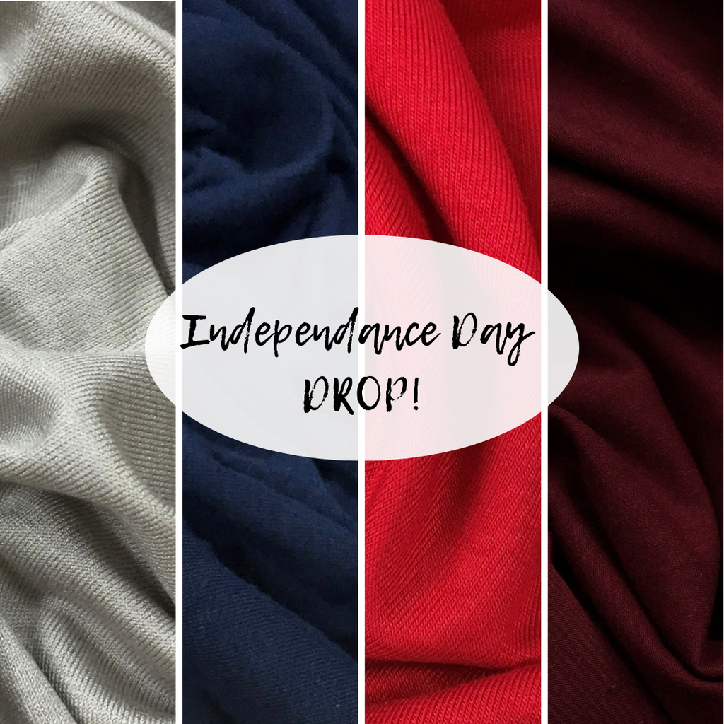 Hooded or Cowl Neck Top with pockets | Independance Day | LIGHTWEIGHT PREORDER