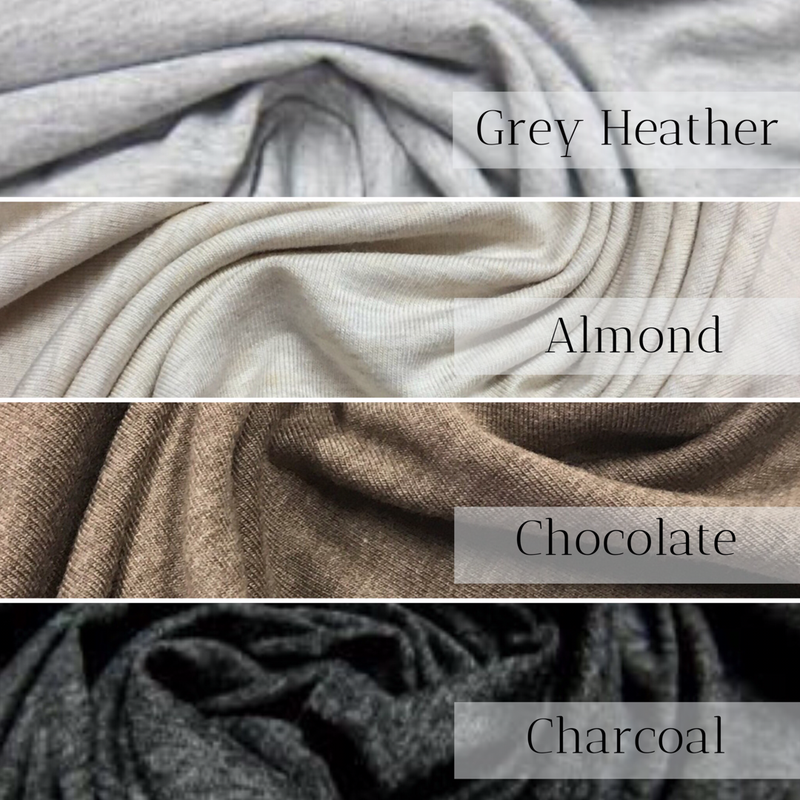0785d90f99a8d OUTFIT | Hooded Sweatshirt and Joggers | Hood or Cowl | Heathered Neutrals  Preorder